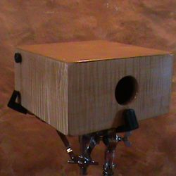 Curly Maple Compact Snare Cajon