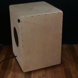 Flagship Snare Cajon with pickups.