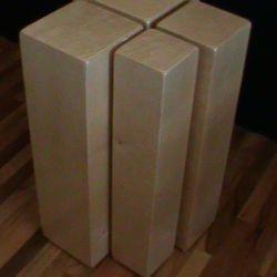 Set of Four Tube Cajons