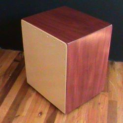 Solid Purpleheart String Cajon