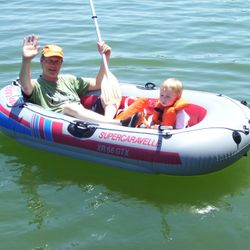 Sevylor inflatable dinghy