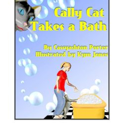 Cally Cat Takes a Bath -- not currently available