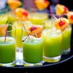 Fruit cocktail shots
