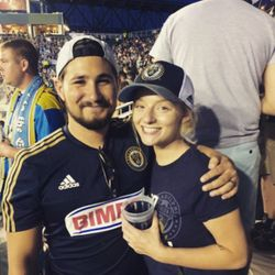 Philadelphia Union soccer game with the Sons of Ben!