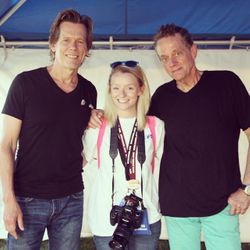 """With Kevin Bacon & Michael Bacon at the 2016 """"24th of July Party"""" on Joint Base McGuire-Dix-Lakehurst!"""