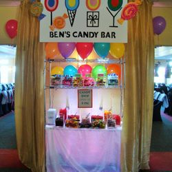 Ultimate display for someone who's sweet tooth is well known!