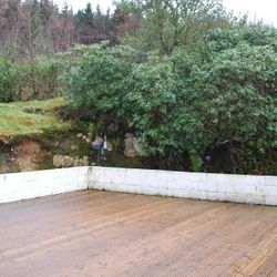 Private rear garden & decking