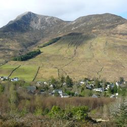 Beinn a Bheithir from the cottage
