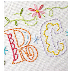 Needlecraft: Alphabet sampler