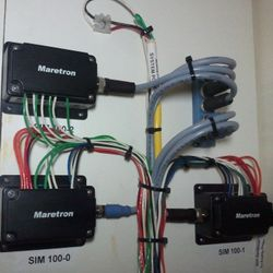 Vessel wiring after CSLLC work.