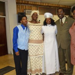 Apostle Asia Hurd and Family