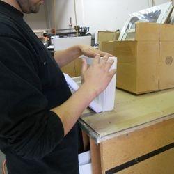 Working On Custom Mats