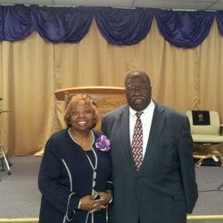 First Lady Irene Dunn  Pastor Elder Joseph Dunn