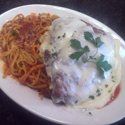 Our Chicken Parm tastes as good as it looks