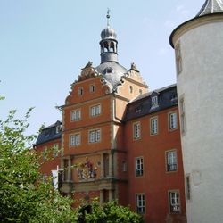 Het Residenzschloss in Bad Bergentheim