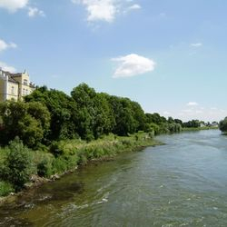 De Donau in Donauwürth