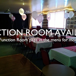 Darcy Lever Cricket Club is available for functions. See our 'Function Room' page in the main menu.