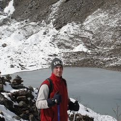 High Altitude Training at 4000m., Kawa Karpo Range, Tibet