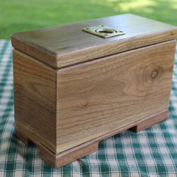 Black Walnut keepsake box