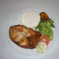 Fried Fish (piska hasa)