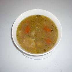 Lamb Soup (sopi di kabritu)