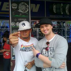 billy crawford and dkt at the BCC