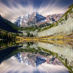 Maroon Bells. Aspen, Colorado