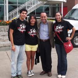 DREAM Action NIU with Senator Luis Gutierrez