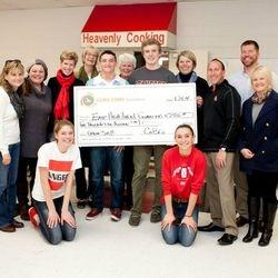 Donation Presentation to Angel Packs from CoBiz 2014