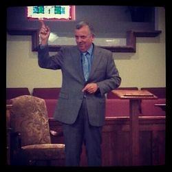 Br. Alan Weishampel Preaching
