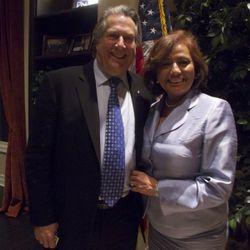 With Treasurer of the United States Rosario Marin