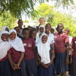 "The smaller group, the ""teaching girls"" that we held sessions with first"