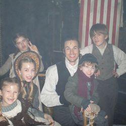 Scrooge at the London Palladium: The Cratchit kids! (Oct 2012 - Jan 2013)