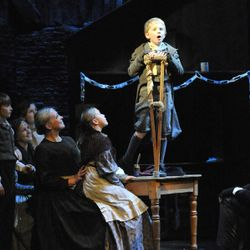 Scrooge on tour (Oct 2011 - Jan 2012)