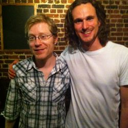 With Anthony Rapp (Sept 2012)