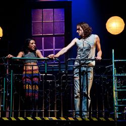 Rent production shot with Steph Fearon (Sept 2012)