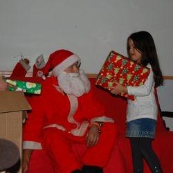 Santa visits Egmont!