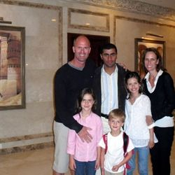 Todd Family in Cairo 2007