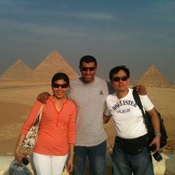 Pyramids Panorama 2012
