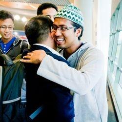 Sambutan Mesra Pelajar Senior kepada Pelajar Junior.