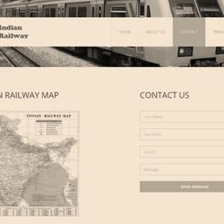 Railway Reservation in ASP.Net