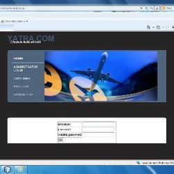 Online AirLine Reservation in ASP.Net