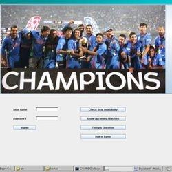 Cricket Mania In Core Java