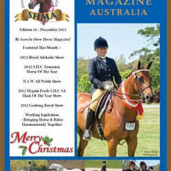 Show Horse Australia Magazine cover & Equistyle Quality Stocks