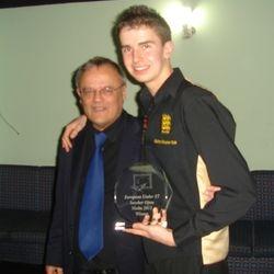 Vincent Pisani & 2011 Winner Zak Barton