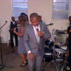 MINISTERING IN SPRINGS, SOUTH AFRICA.