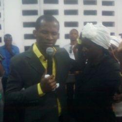 PREACHING IN ACCRA, GHANA