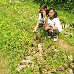 Nature Club Tree Plantation In School