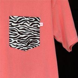 Coral Zebra 1 Med, 1 Lg
