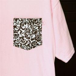 Pink Damask 1 Lg, 2 XL